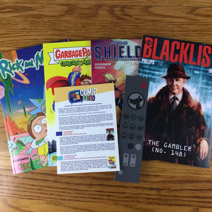 Comic Bento is a comic subscription box with a varying theme for each month. See the October 2016 'As Seen on TV' box in my review + coupon code!    - https://hellosubscription.com/2016/10/comic-bento-october-2016-subscription-box-review-coupon/ #ComicBento #subscriptionbox