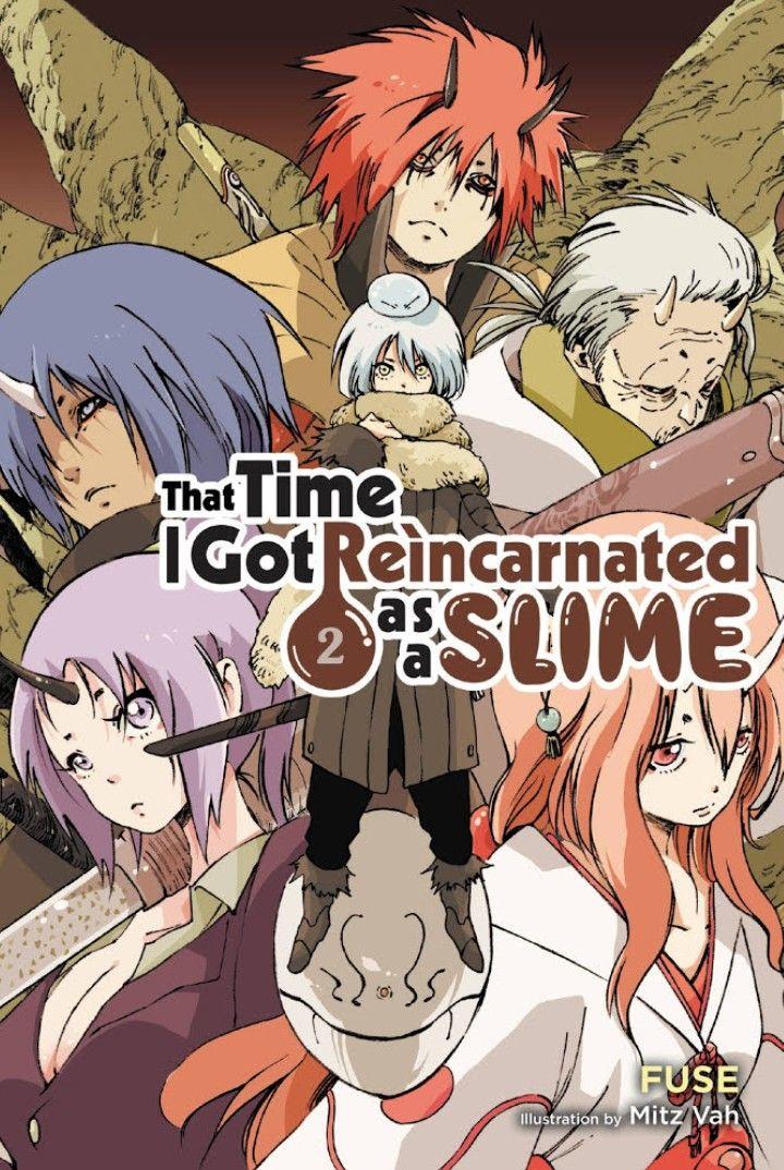Light Novel Volume 2 Yenpress Light Novel Slime Anime