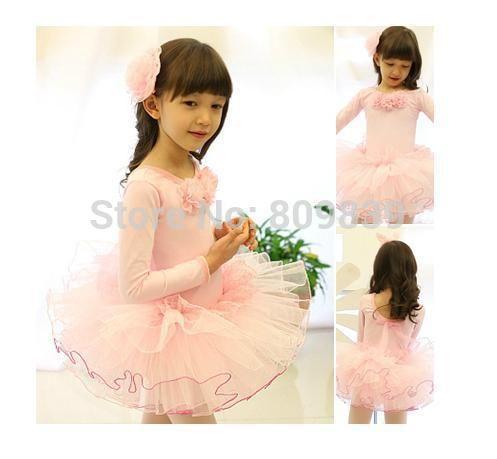 Девочка балет юбка розовый белый красный / черный купальник балет пачка танцевальная одежда скейт ну вечеринку показать платье SZ3-8Y