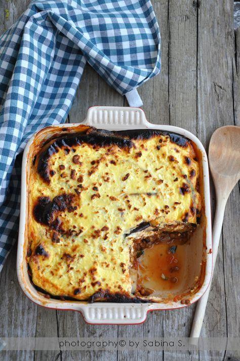 Due bionde in cucina: Moussaka di verdure e lenticchie