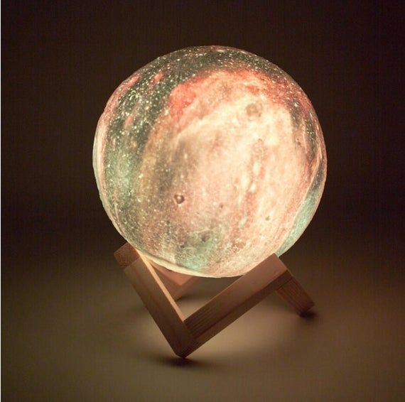 Moon Lamp 3d Lithophane Rechargeable Print Touch Touch Light Light Galaxy Led Star Colorful Change Home Decor Creative Gift In 2020 Star Lamp Night Light Color Changing Lamp