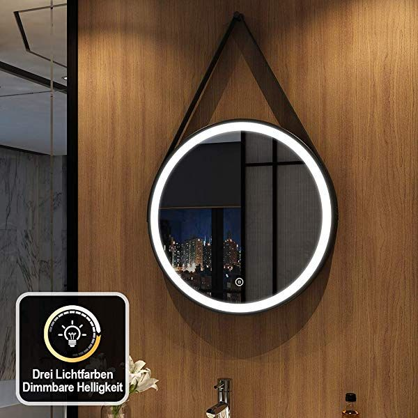 Duschdeluxe Led Bathroom Mirror With Lighting Warm White