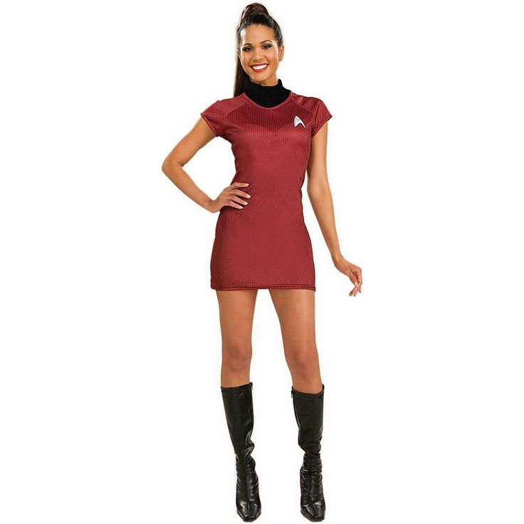 Star Trek Red Dress Costume - Adult, Women's, Size: XS