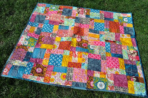 Good Folks Disappearing Nine Patch by Lucy & Norman, via Flickr