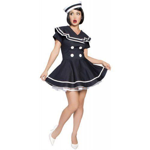 PinUp Captain Costume  SmallMedium  Dress Size 26 -- Visit the image link more details.