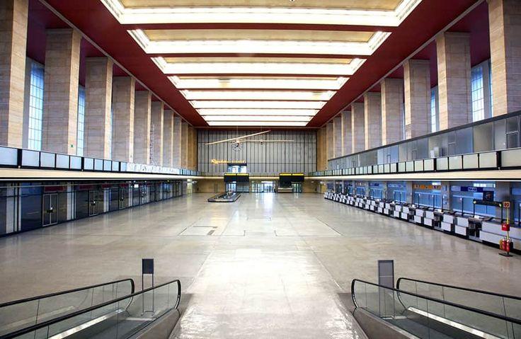 Kreativiteten växer fram på Flughafen Tempelhof i Berlin.