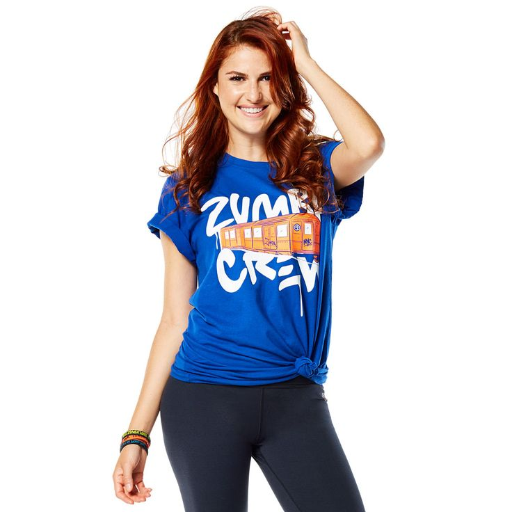 OFFICIAL NYC TEE - SURFS UP BLUE (UNISEX) ------------------------ Pull out all the stops in the Official NYC Tee. Taking on the Concrete Jungle is easy, when you're in this comfy, unisex tee. Zumba tee.