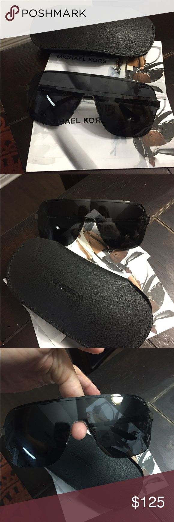 Brand New with tags Men's Carrera  Sunglasses Comes with case and cloth. Brand New and Authentic Carrera Accessories Sunglasses