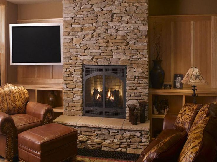 DIY Stone Fireplace Surround Design Inspirations