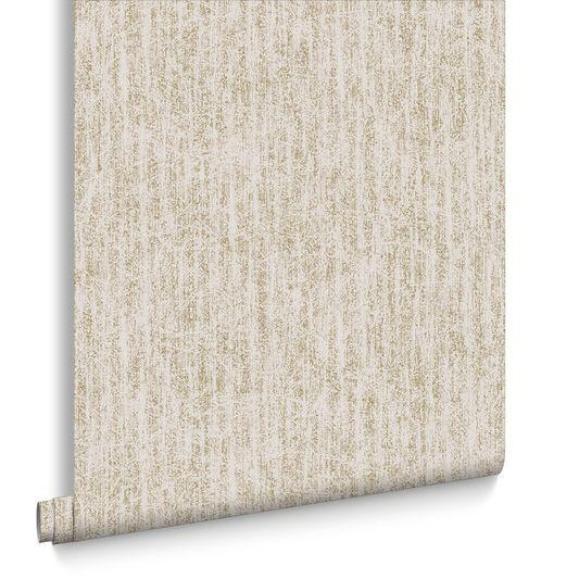 Devore Cream and Gold Wallpaper