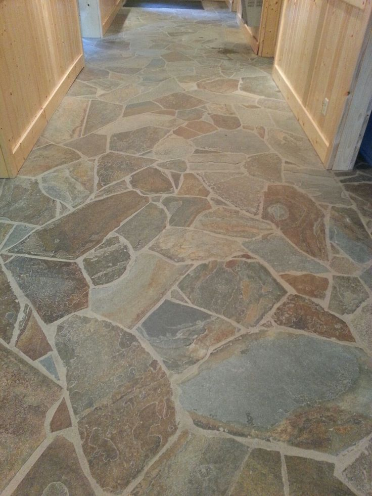 X Floor Tile On Kitchen Floor