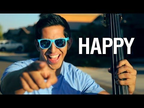 Happy - Pharrell Williams (string cover) - Simply Three - YouTube