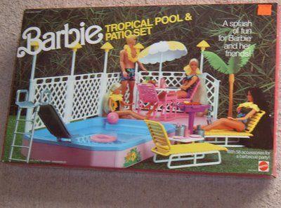 barbie pool i had this lol