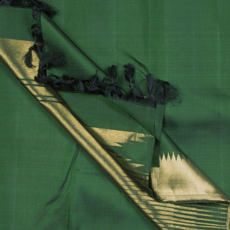 Kanakavalli Handwoven Kanjivaram Silk Sari 1000468 - Brands / Kanakavalli - Parisera #south #indian #bridal #saree #trousseau