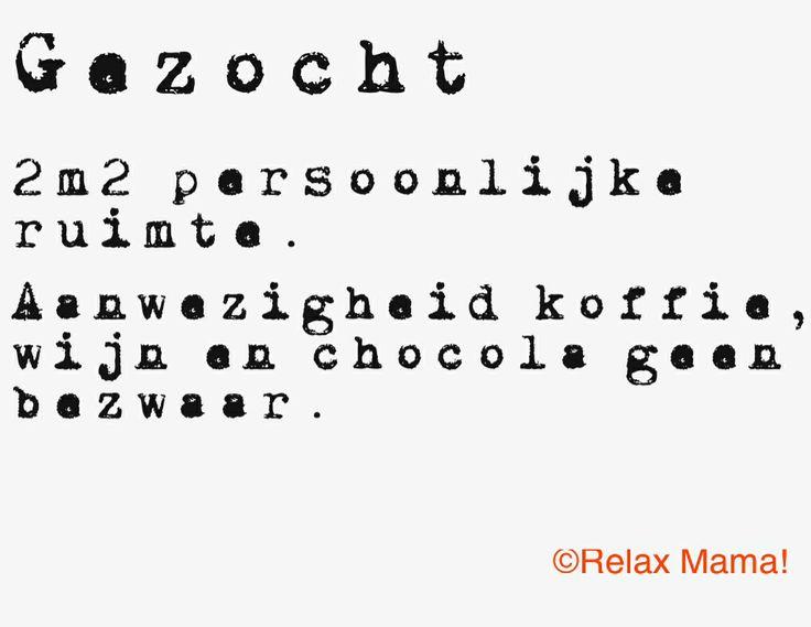 Vorige week stond er op nu.nl: 'Moeders hebben maar 17 minuten per dag voor zichzelf'. Ik heb zo maar het gevoel dat ik die 17 minuten vandaag niet ga redden hahaha. Zie het berichtje hier: http://www.nu.nl/lifestyle/3694821/moeders-hebben-maar-17-minuten-per-dag-zichzelf.html