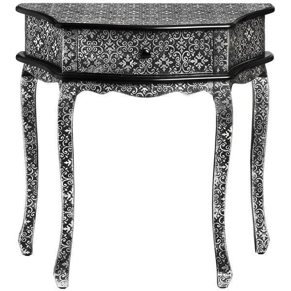 Elegant Marrakech One Drawer Console Table