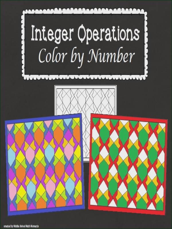 Operations With Integers Worksheet Photo Sure Integer Operations Integers Middle School Math