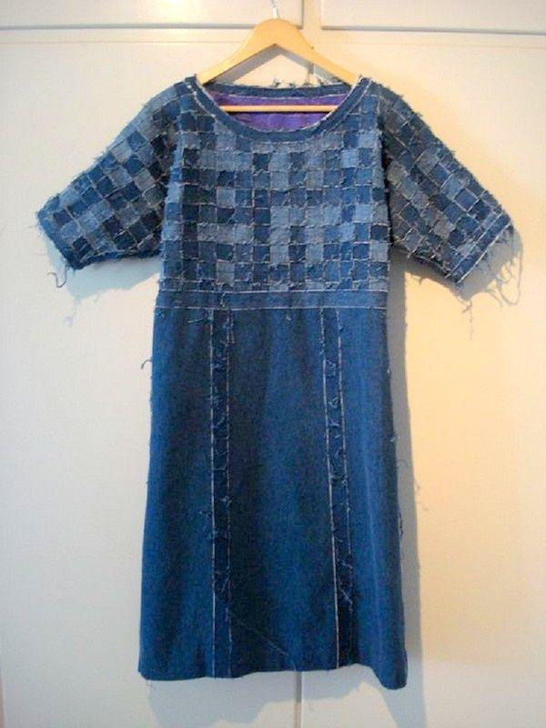 Еще одно плетеное платье / Свитер или кардиган: вторая жизнь / ВТОРАЯ УЛИЦА