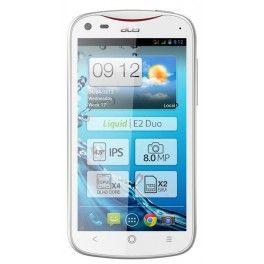 "Acer Liquid E2  GSM/EDGE/UMTS 850/900/1800/1900 MHz, MT6589 (1.2 GHz), 1GB RAM, 4GB Flash, 11.43 cm (4.5 "") 960 x 540, 802.11 b/g/n, Bluetooth 3.0 + EDR, 8 Mp, 140g, Blanco, Android 4.2.2"