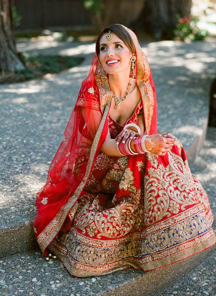 Such a beautiful bride.