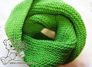 Infinity Scarf Knitting Pattern Garter Stitch : 2152 best images about Knitting/Crocheting on Pinterest ...