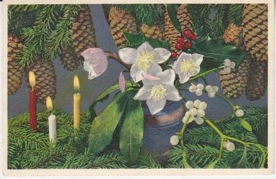 Thor E Gyger Postcard - 7291- Christmas Decoration