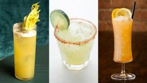 Beat the dog days of summer with citrus-forward cocktails that still pack a punch.