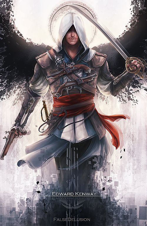 Assassin's Creed - Edward by FalseDelusion on DeviantArt