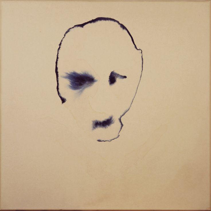 Maciej Olekszy, Bez tytułu ( z cyklu -  Żelazny Piec ), akwarela, papier naklejony na płótno, 50 x 50 cm, 2010 (10)