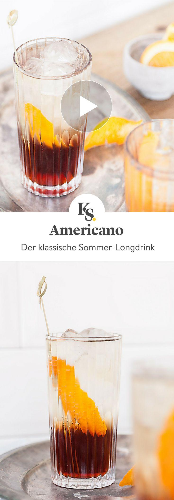 Verzauberkunst Longdrinks Klassiker Das Beste Von Americano. Ein Unter Den
