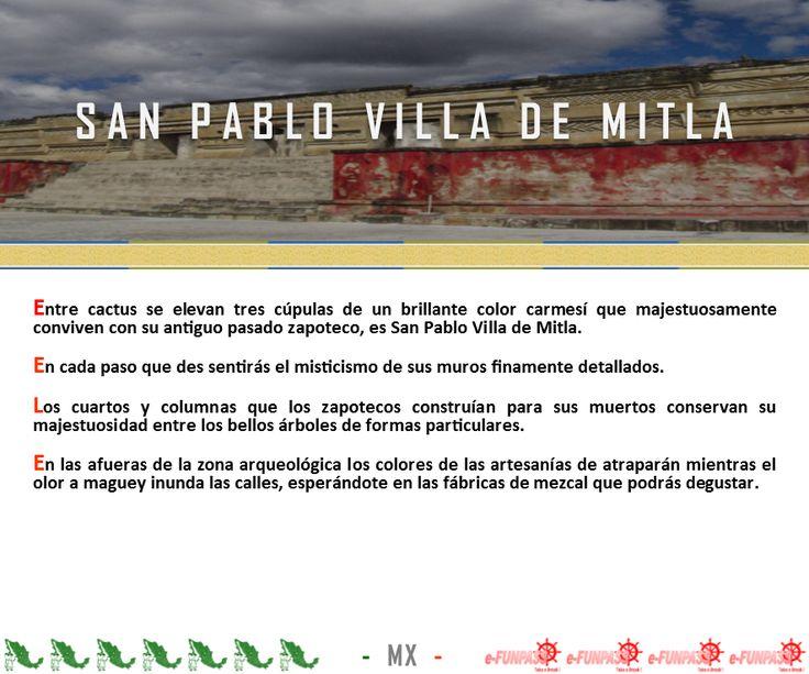 San Pablo Villa de Mitla Info...