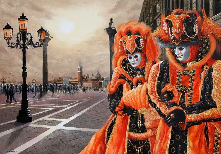 'Morning's Masquerade' Graham Denison. Originl SOLD Prints available