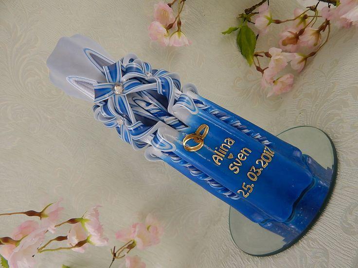 Hochzeitskerze. von LenzKerzen auf Etsy