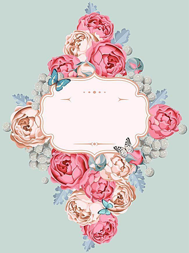 Vector flor planta flores boda diseño vid, Flores Flor De Vid, Vector Planta, Diseño De Boda, Imagen de fondo