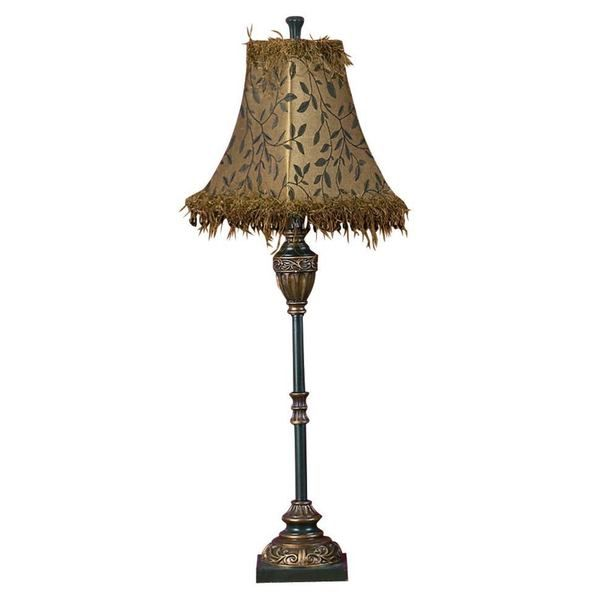 423 best lamps and lampshades images on pinterest home ideas the 33 inch french country victorian table lamp features a bronze and black buffet lamp greentooth Image collections