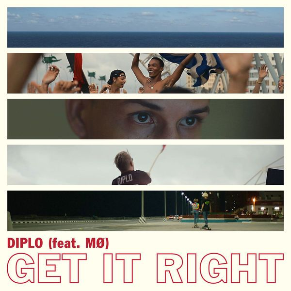 """Listen to """"Get It Right (feat. MØ)"""" by Diplo (Major Lazer)   #LetsLoop #Music #NewMusic   LetsLoop.com/New-Music"""