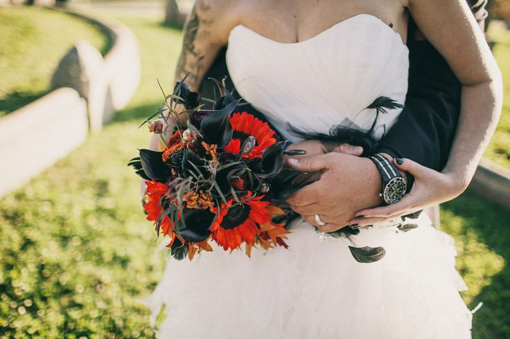 Historic Cemetery Wedding with the Bride Arriving in a Coffin: Kristen  Jo