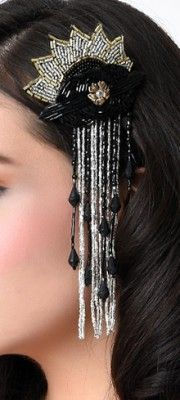 Flapper Headbands, Headpieces & Jewelry - 1920s Flapper Accessories   Unique Vintage