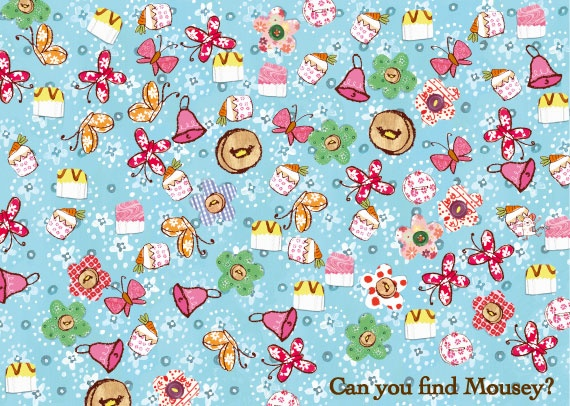 Can you help me find mousey?