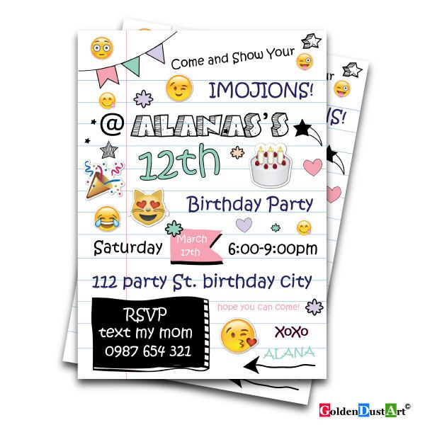 25 best ideas about Teen birthday invitations – Party Invite Text