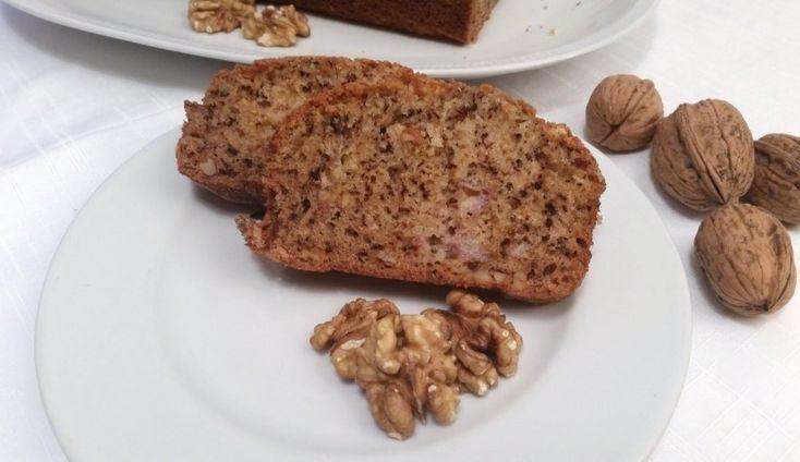 Torta di banane e noci | Banana and walnut cake