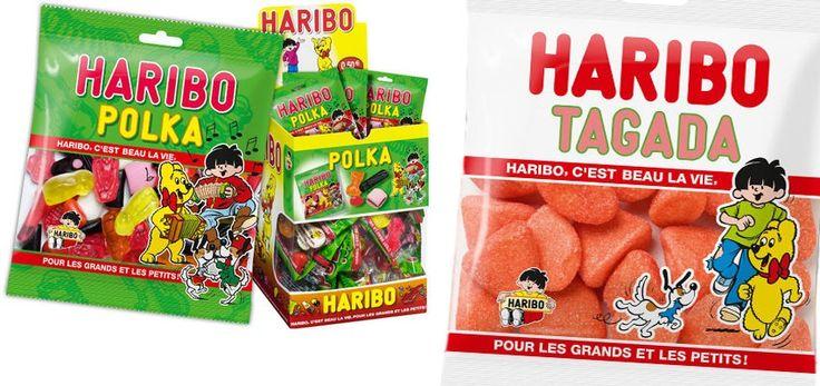 350 Paquets Haribo Tagada & Polka GRATUITS