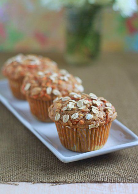 Hearty spiced carrot muffins   Kitchen Treaty
