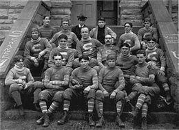 The 1899 Sewanee football team.