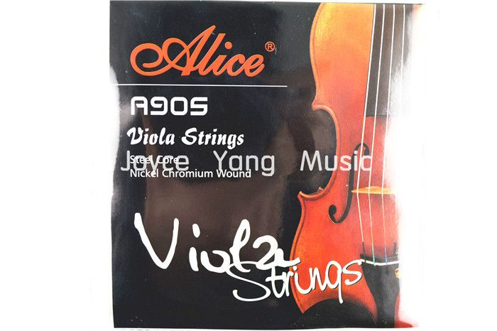 Alice A905 Nickel Chromium Wound Viola Strings Set of 4 Strings Free Shipping #Affiliate