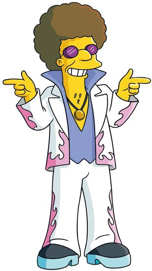 Disco Stu - Simpsons Wiki