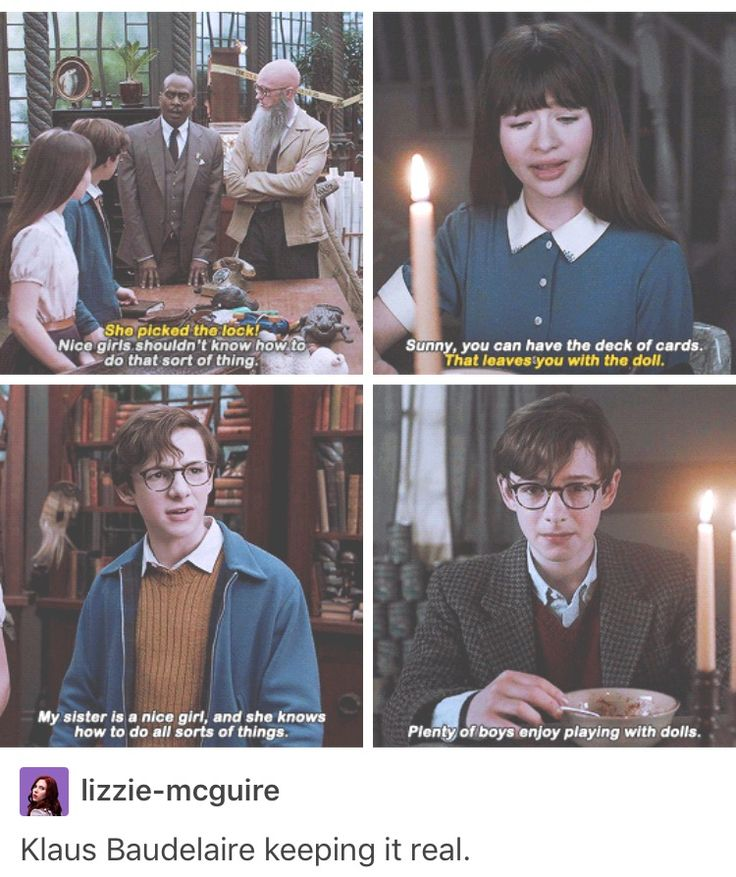This is the best Series of Unfortunate Events I've ever seen.  True to the book, and quite hilarious