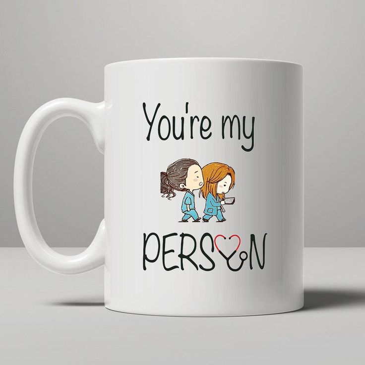 Greyu0027s Anatomy  Meredith U0026 Christina Coffee Mug