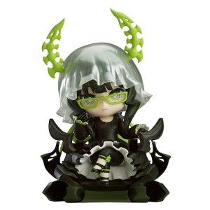 Nendoroid: Black Rock Shooter – Dead Master TV Animation Version Action Figure A delicate yet feisty looking nendoroid. Each of her fingers are so finely detailed you can feel the ridges in between the joints. Her veil and glasses are a nice touch and her chair is probably the best part of all.