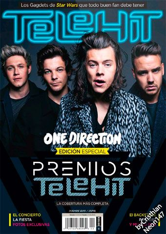 Revista Telehit México - Diciembre 2015 - Premios Telehit